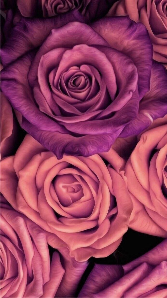 Floral Flower Iphone Android Wallpapers Floral Wallpaper Iphone Floral Wallpaper Phone Flower Phone Wallpaper Iphone flower rose gold wallpaper hd