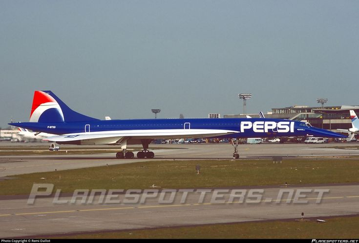 Air Franch Aérospatiale/BAC PepsiCo.Inc. Concorde 101 F-TSD aircraft, parked at France Paris Orly International Airport..