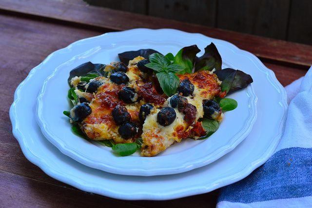 Dívány - Alapkonyha - Olívás-krémsajtos csirkemell