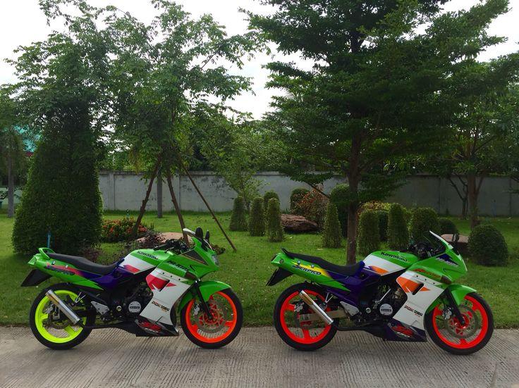 Kawasaki Serpico 150 cc special edition 1997&1998 by kodomo.pakchong