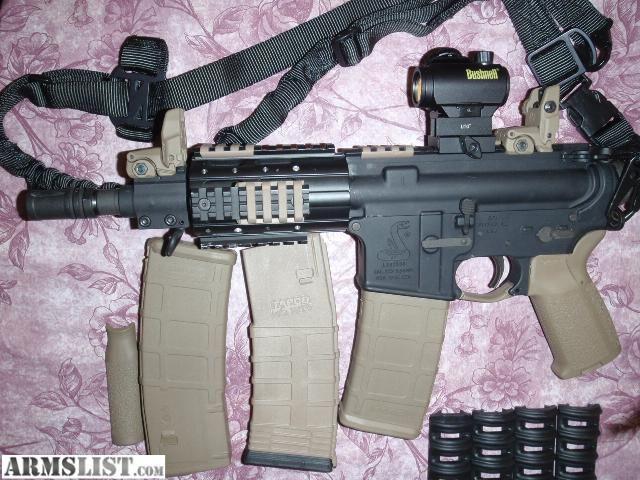 ARMSLIST - For Sale/Trade: Bushmaster 223 Pistol.