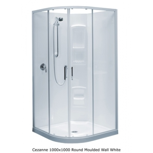 Clearlite Cezanne Showers - Moulded Walls