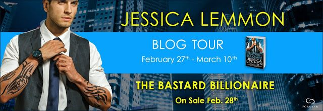 """The Bastard Billionaire Billionaire (Bad Boys #3) by Author Jessica Lemmon - Blog Tour Read and #excerpt, her top 5 """"Beastly"""" heroes, review and enter #Giveaway to #win series"""