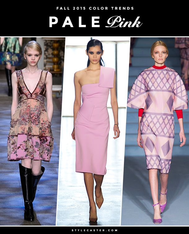The 8 Biggest Color Trends for Fall 2015