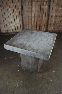 Concrete Table Top Ideas | Light Weight Concrete Dining Table | Mecox  Gardens