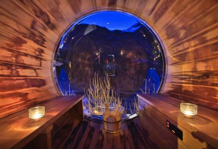 Chalet le Bullou – Steam Room