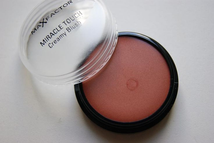 "Max Factor Cream Blusher in Soft Copper. This is a lovely blusher to add a pop of colour to your cheeks. Apply with your fingertips and blend to the ""apples"" of your cheeks upwards and outwards."