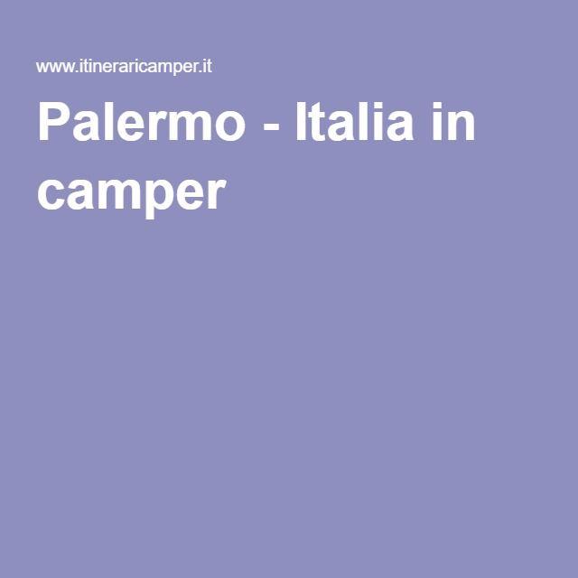 Palermo - Italia in camper