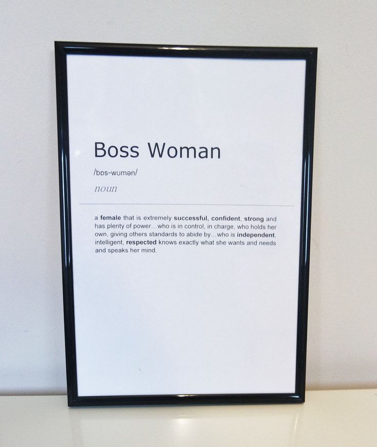 Boss Woman Definition Print. Inspirational Quote Print. Wall Art. Gift Idea. Bedroom Typography Art.Monochrome Print. Home Décor. Wall Décor by BlushedCreationsXOXO on Etsy