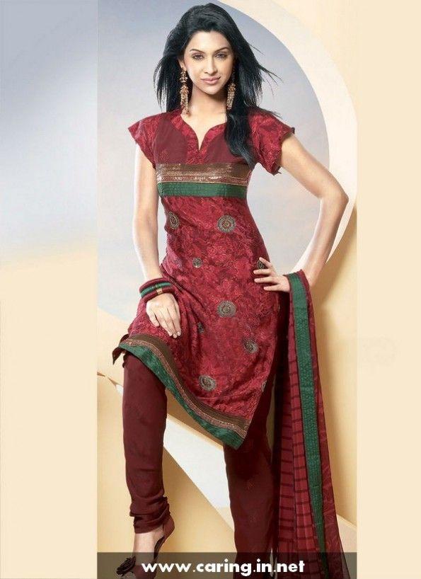 Cotton Salwar Neck Designs Catalogue 2015