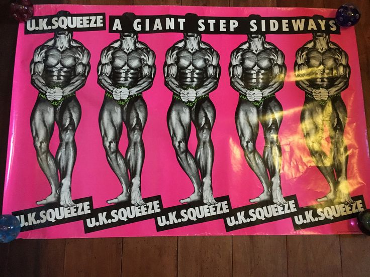 UK Squeeze  A Giant Step Sideways  1978 A&M Records Rare Origina Vintage Music Poster by RockPostersTreasures on Etsy