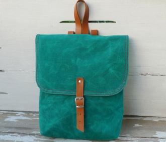 Mini Green Backpack
