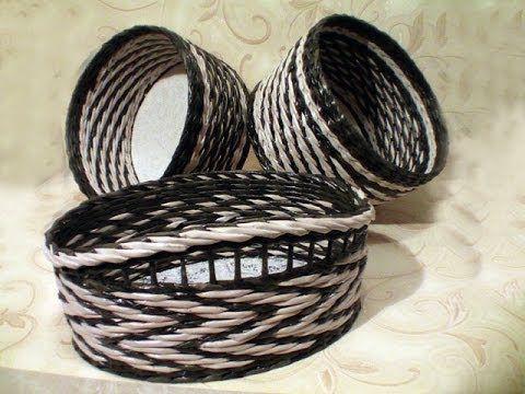 """▬► Плетение узора """"верёвочка с объемом"""""""