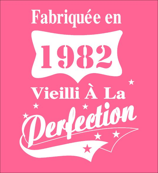 Fabriquee en 1982 - Vieilli A La - Fabrily