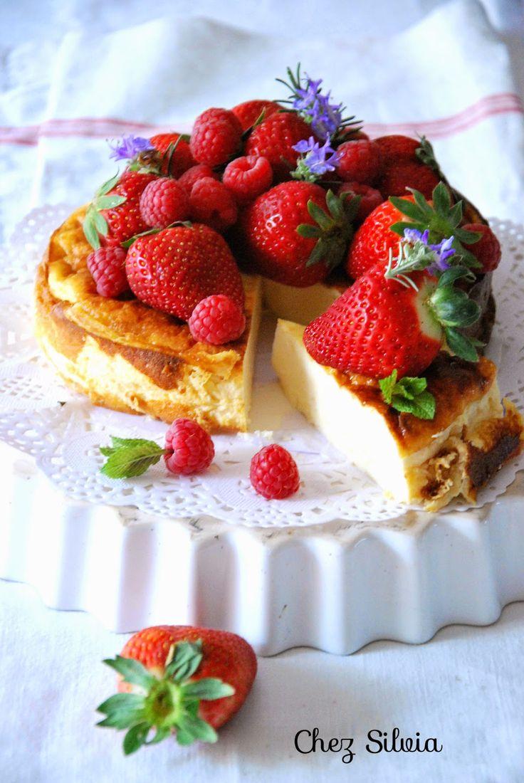 CHEZ SILVIA: Tarta de queso { sín azúcar }