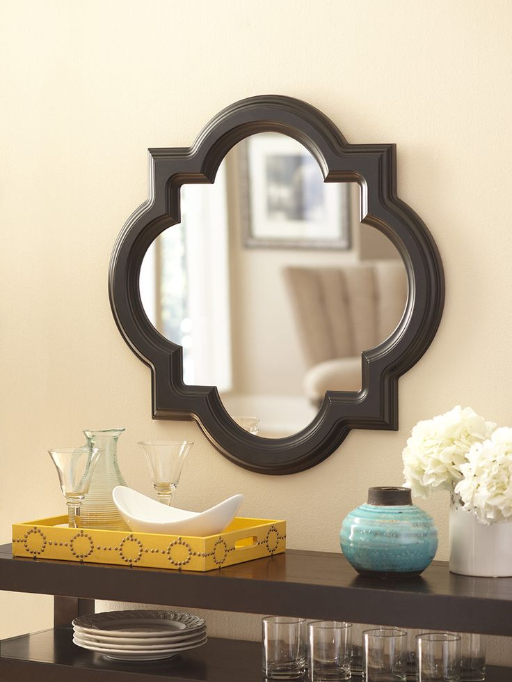 Add an allen + roth statement mirror to your home.