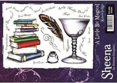 A Little Bit Magical Stamp Set - Knowledge by Sheena Douglass
