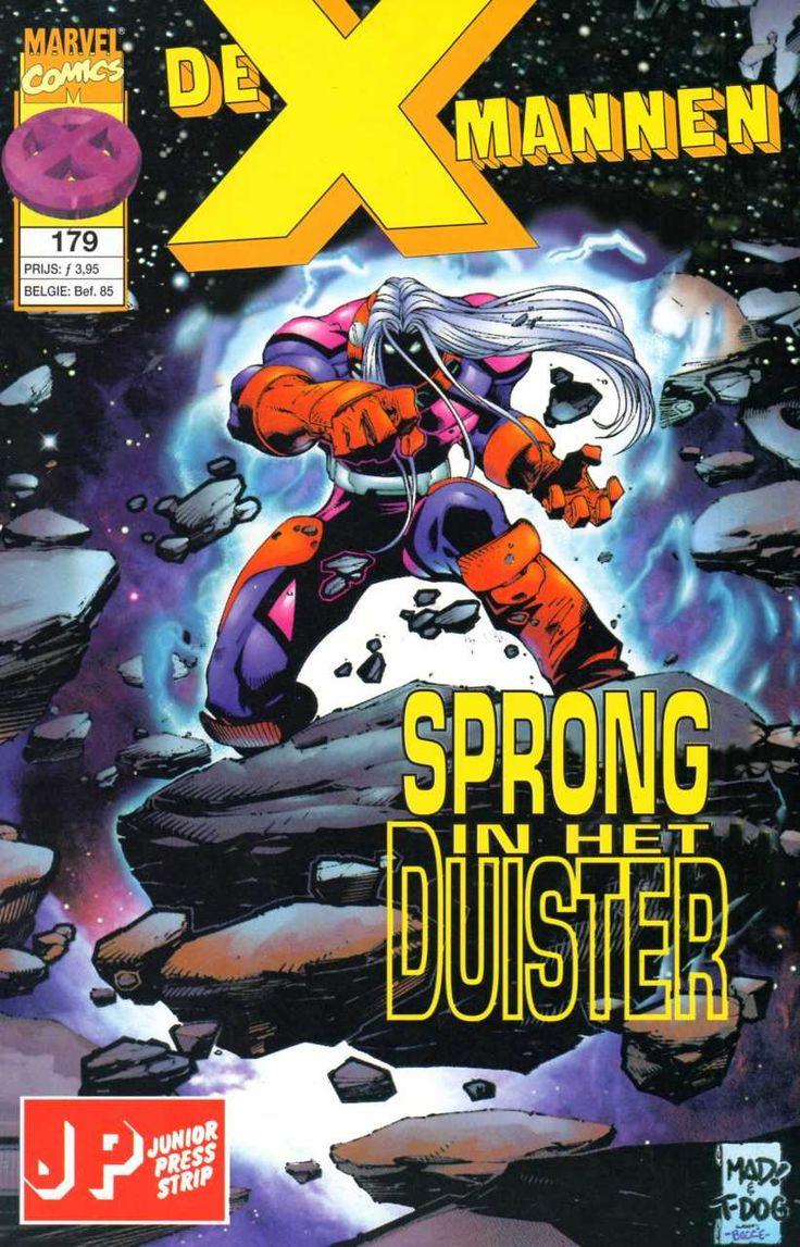 X-Mannen #179 Sprong in het duister