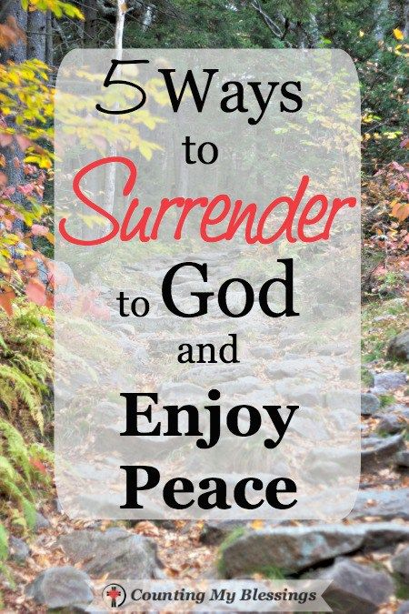 """One of the hardest sentences in a Christian's life is... """"Not my will, Lord, but Yours be done."""" That's surrender! Possible only with God's help."""