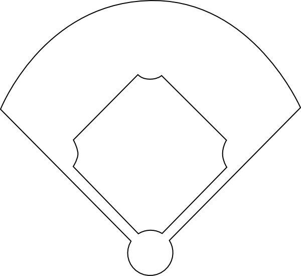 graphic regarding Diamond Template Printable known as Baseball Business Template Printable