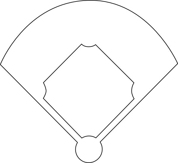 Adaptable image within printable baseball field
