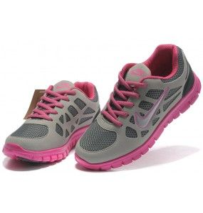 Nike Free Running Kids shoes in Gray/pink Nkids32 sale