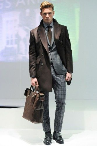 Hardy Amies Fall/Winter 2014 Runway from London Collections: Men