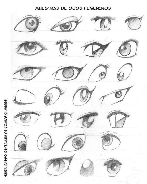 Resultado De Imagen De Dibujos De Ojos Para Caricaturas Dibujos