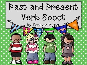 In this activity, students will demonstrate their knowledge on past and present tense verbs, all while having fun and staying engaged! This scoot has 20 verbs that are mixed between past and present. The students will have to identify if the verb is a past or present verb and indicate that on their answer sheet.