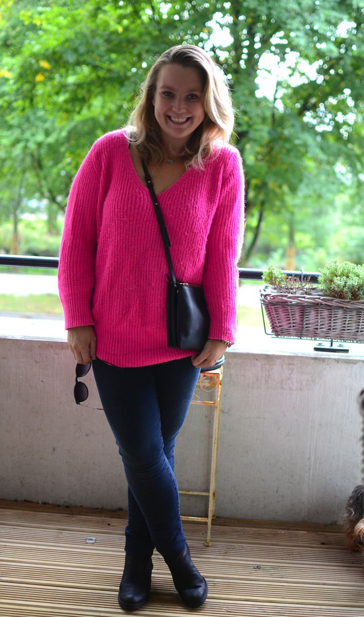 Outfit of the day: roze trui | Styleguide