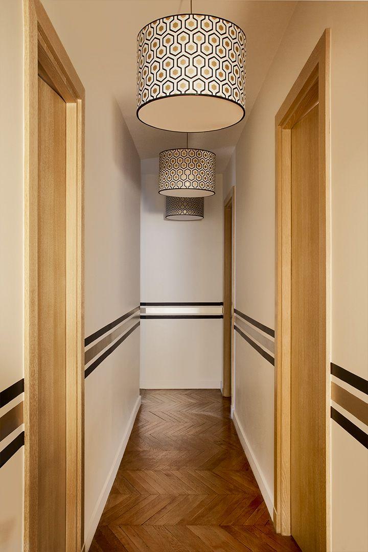 les 25 meilleures id es de la cat gorie couleur couloir sur pinterest couleurs de couloir. Black Bedroom Furniture Sets. Home Design Ideas