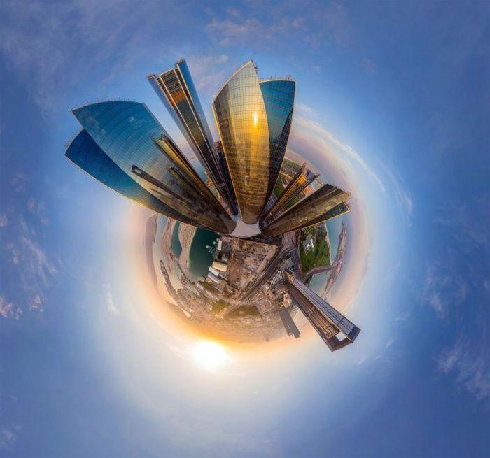 Οι πόλεις του κόσμου, αλλιώς -Φωτογραφίες τις μετατρέπουν με μαγικό τρόπο σε σφαίρες [εικόνες] | iefimerida.gr
