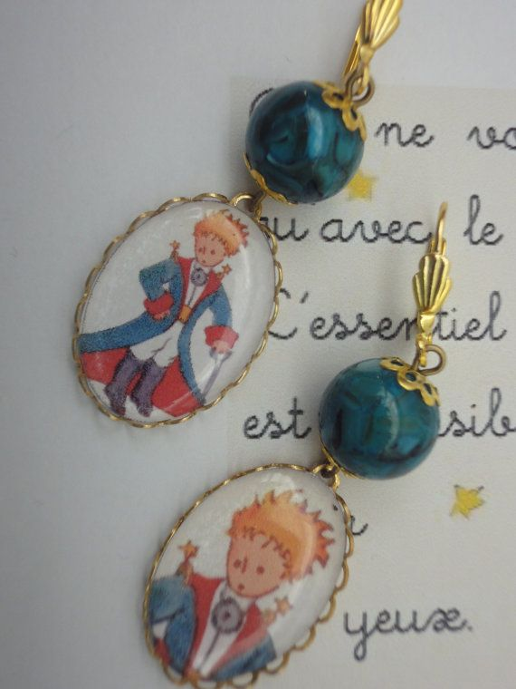 The Little Prince  Le Petit Prince earrings by artandchill on Etsy, $7.00