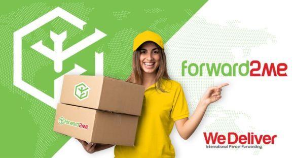 شركة Forward2me تجميع الشحنات في بريطانيا Parcel