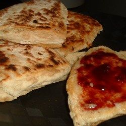 Irish Soda Farls  - made in frying pan. Will be making these in hot weather to avoid using my oven.