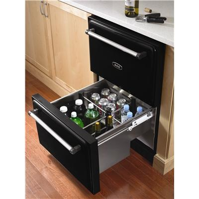 under counter refrigerated drawers love the idea but. Black Bedroom Furniture Sets. Home Design Ideas
