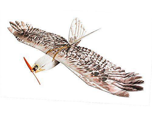 RC Airplane EPP Plane Model Mini Eagle Wingspan 1200mm Slow Flyer Biomimetic Aircraft Kit