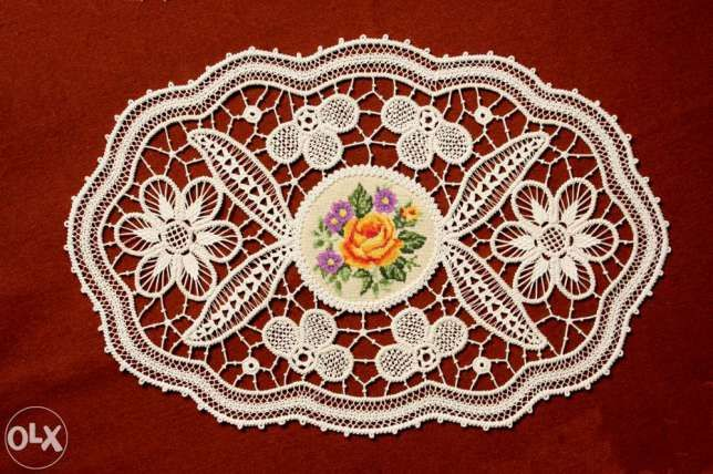 Set de 3 piese Pantlas Macrame Laseta Goblene decor Nou profesionist Targu-Mures - imagine 2