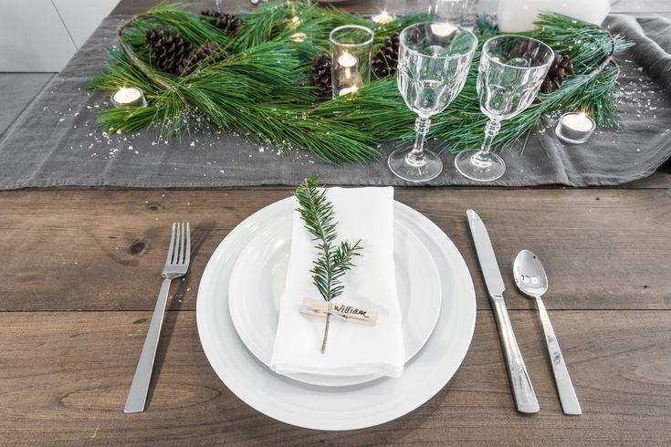 Christmas Table - VALÉRIE DE L'ÉTOILE INTERIOR DESIGNER