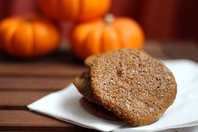 Pumpkin Gingersnap Cookies | Delightful Ediables and Sensuous Sips ...