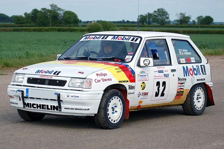 Vauxhall Nova Opel Corsa Rally Car Cars Pinterest