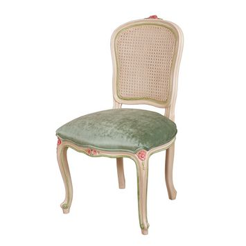 French provincial - Louis XV Shieldback Dining Chair Upholstered - French provincial style in Sydney, Australia