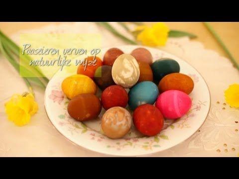 Paaseieren verven op natuurlijke wijze - Allrecipes.nl - YouTube