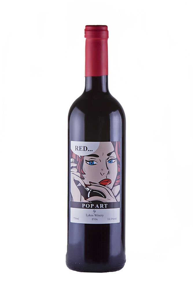 Lykos Winery Pop Art Red Wine