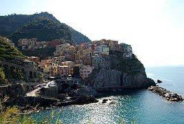 Cinque Terre, Liguria, Casas, Mar