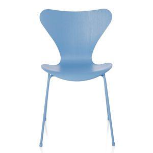 CASANOVA Møbler — Fritz Hansen - Serie 7 Stol farvet ask - Monokrom Trieste Blue