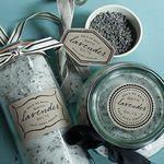 Printable Lavender Bath Salt Labels