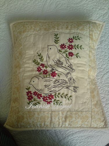 Embroidery - cushion