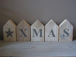 Kerst huisjes
