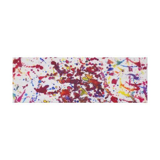 """July "" 36 x 12 inch, 1.5 Canvas Print"